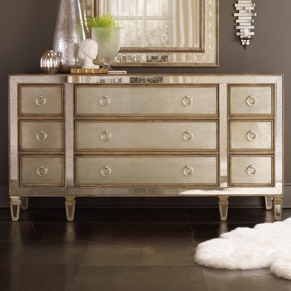 Sanctuary 9 Drawer Dresser by Hooker Furniture