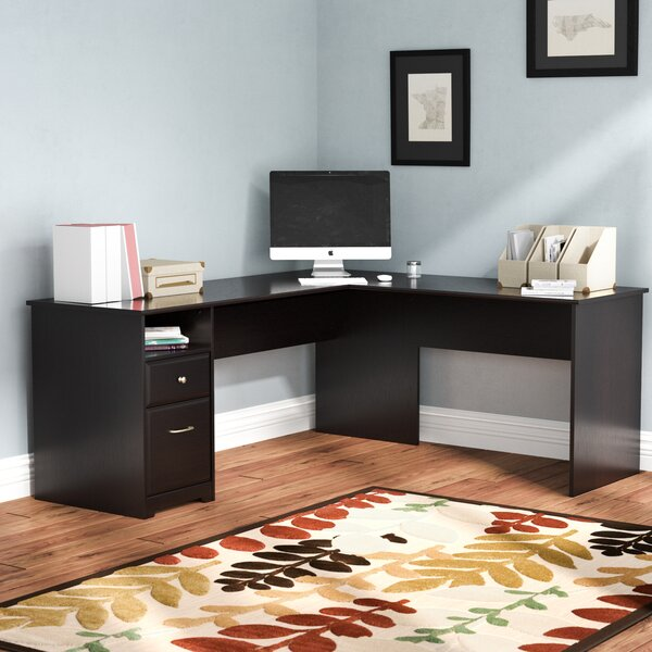 Hillsdale L-Shaped Executive Desk by Red Barrel Studio