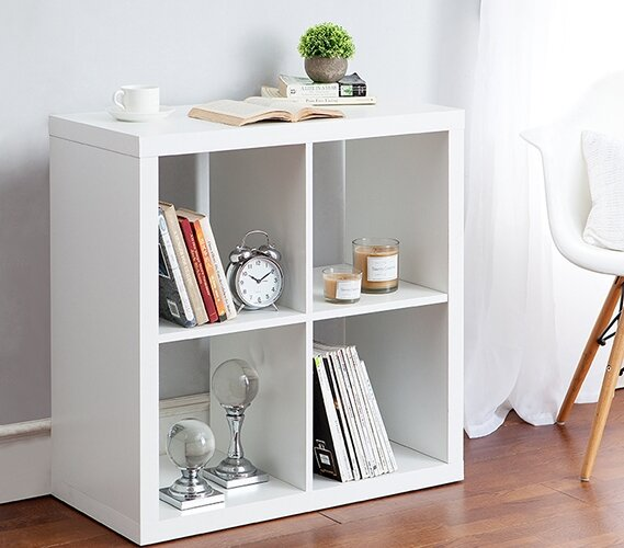 Remillard Cubby Bins Cube Unit Bookcase by Latitude Run