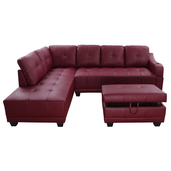 Waseca Sectional With Ottoman By Latitude Run