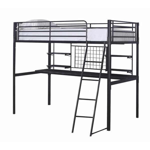 Arelious Twin over Twin Loft Bed by Harriet Bee