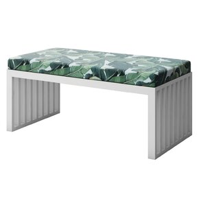 Ahumada Solid Upholstered Bench by Everly Quinn