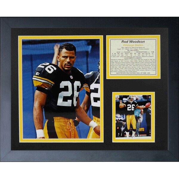 Rod Woodson Framed Memorabilia by Legends Never Die