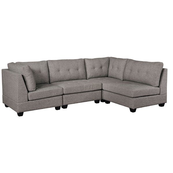 Shop The Complete Collection Of Astana Right Hand Facing Sectional by Ebern Designs by Ebern Designs