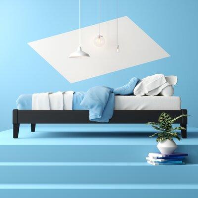 Camdyn Upholstered Platform Bed Hashtag Home Size: King, Color: Black