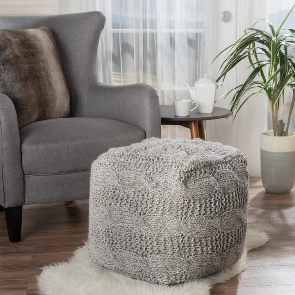 Dumbarton Upholstered Pouf by Laurel Foundry Modern Farmhouse