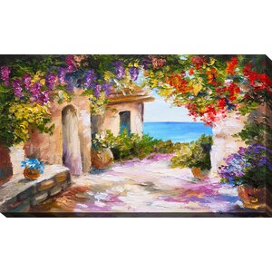 'European Vista' Painting Print on Wrapped Canvas by Picture Perfect International
