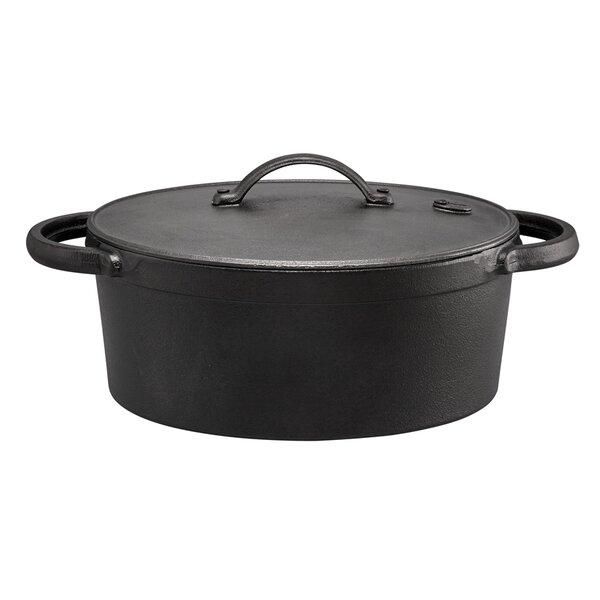 5 Qt. Cast Iron Oval Dutch Oven by Farberware