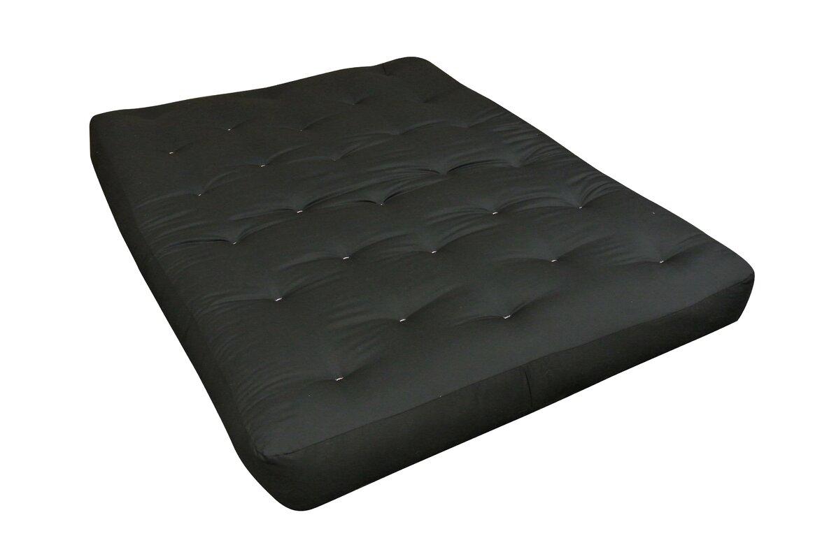 8   foam  u0026 cotton futon mattress gold bond 8   foam  u0026 cotton futon mattress  u0026 reviews   wayfair  rh   wayfair