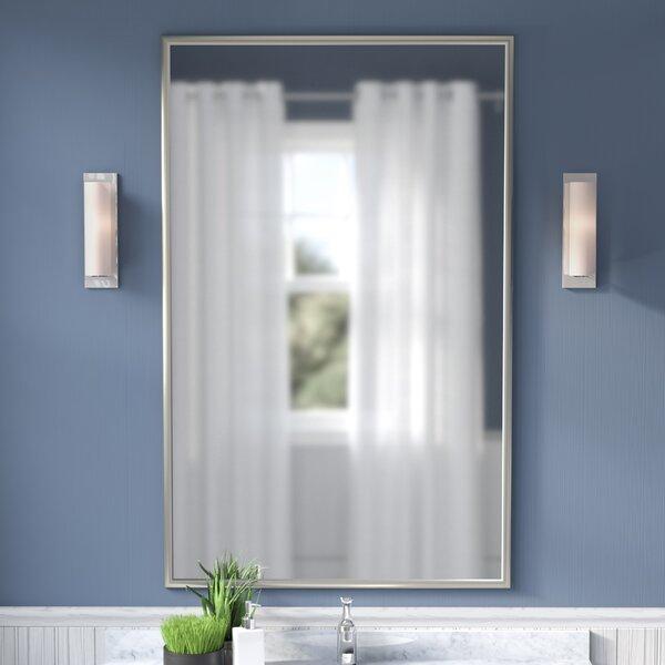 Polished Bathroom/Vanity Mirror by Orren Ellis