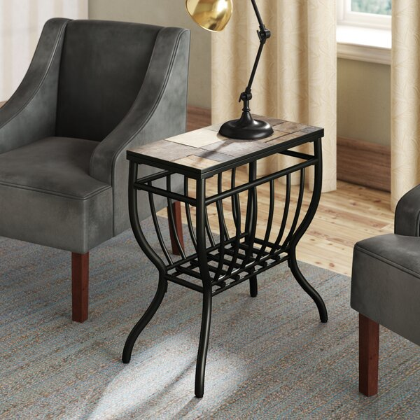Levitt Rectangular End Table by Loon Peak