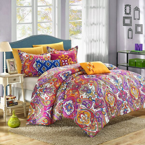 Hays 8 Piece Reversible Comforter Set by World Menagerie