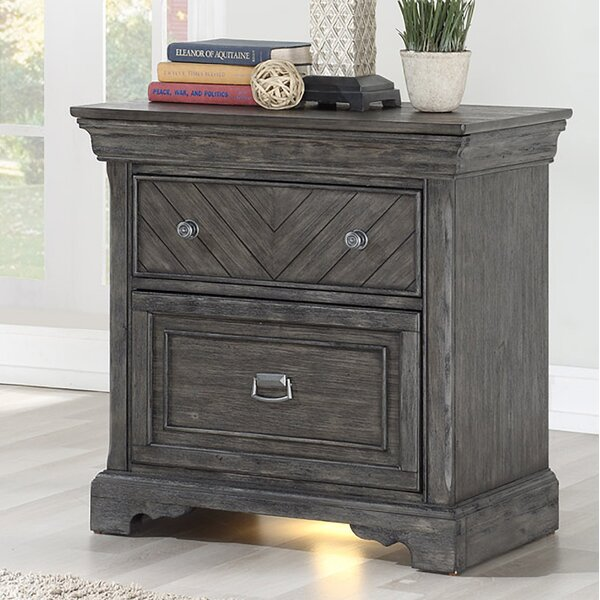 Maltby 3 Drawer Nightstand by Gracie Oaks