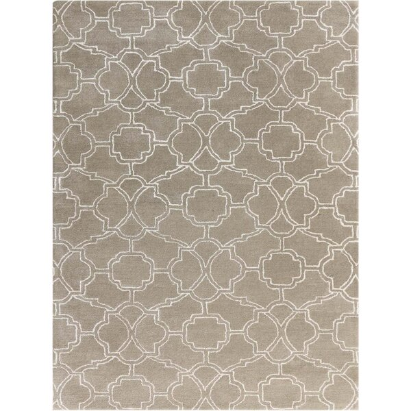 Kamena Hand-Tufted Sand Area Rug by Mercer41