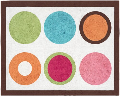 Deco Dot Area Rug by Sweet Jojo Designs