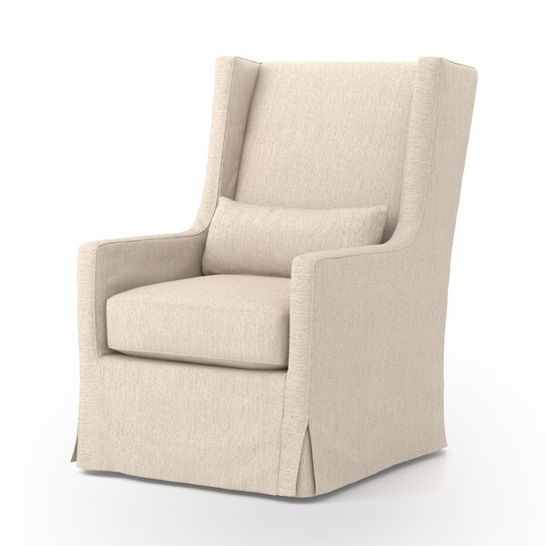 Kay Swivel Wingback Chair By Darby Home Co