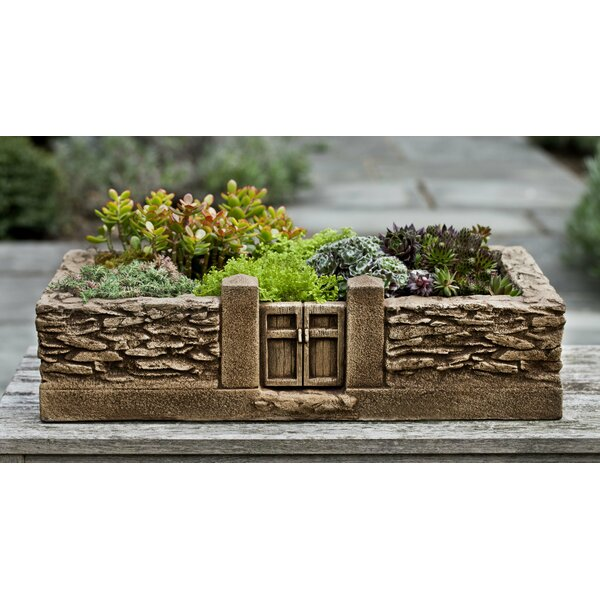 Stone Planter box by Campania International