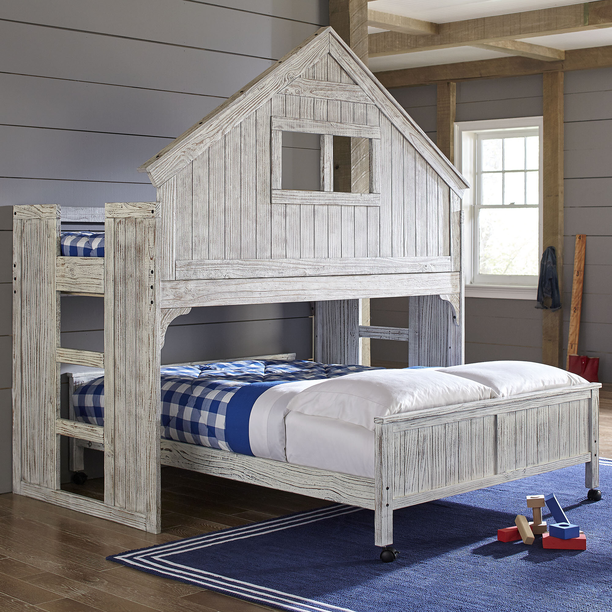 Twin Over Full Bunk Bed Reviews Birch Lane