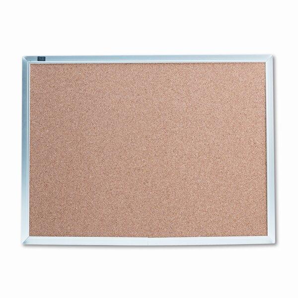 Cork Wall Mounted Bulletin Board by Quartet®