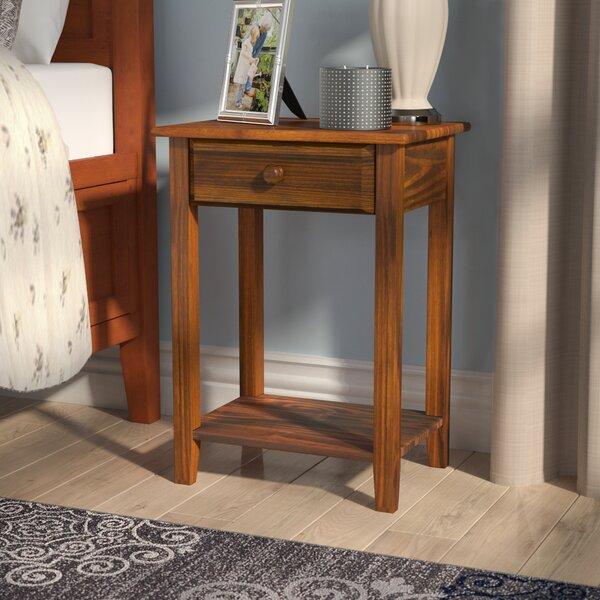 Andress 1 Drawer Nightstand by Charlton Home