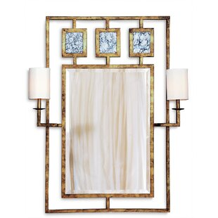 Port 68 Avenue with Sconces Accent Mirror