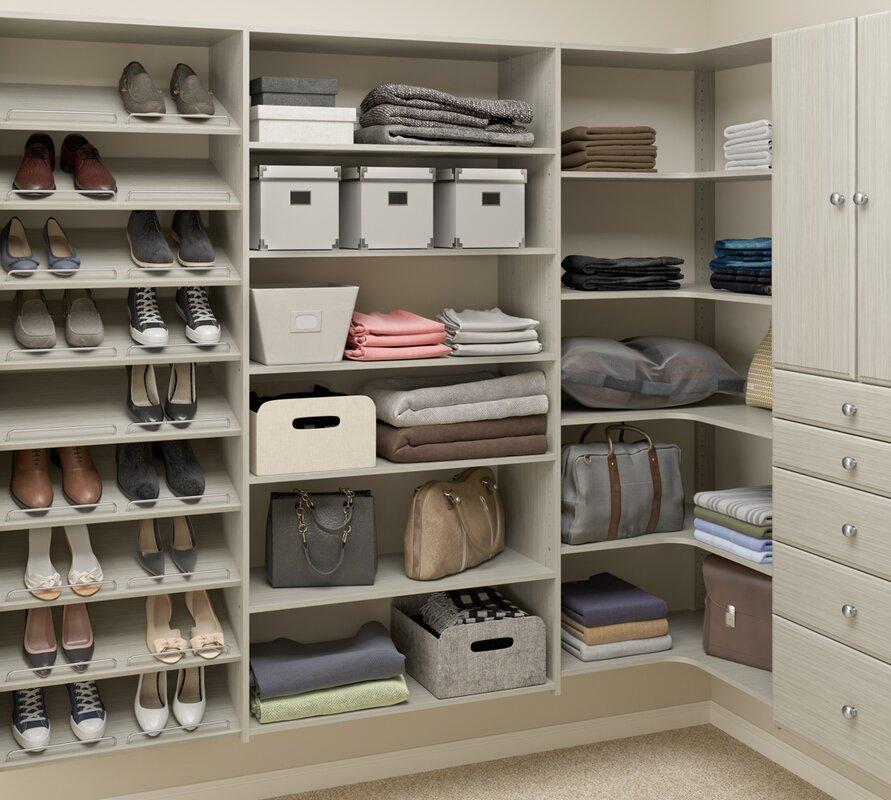 Easy Track 24 in. W Shoe Shelves