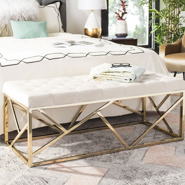 Kingery Upholstered Bench by Everly Quinn