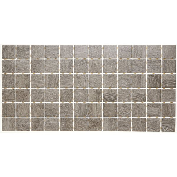 2 x 2 Ceramic Mosaic Tile in Balsam Fir by Itona Tile