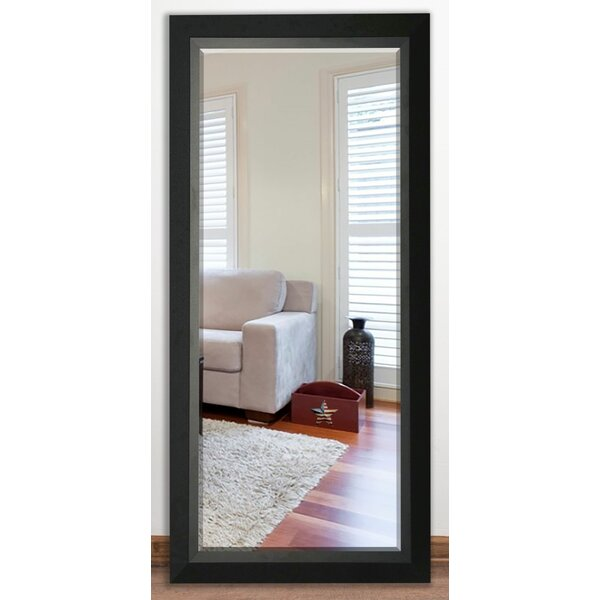Beveled Black walnut Wall Mirror by Darby Home Co