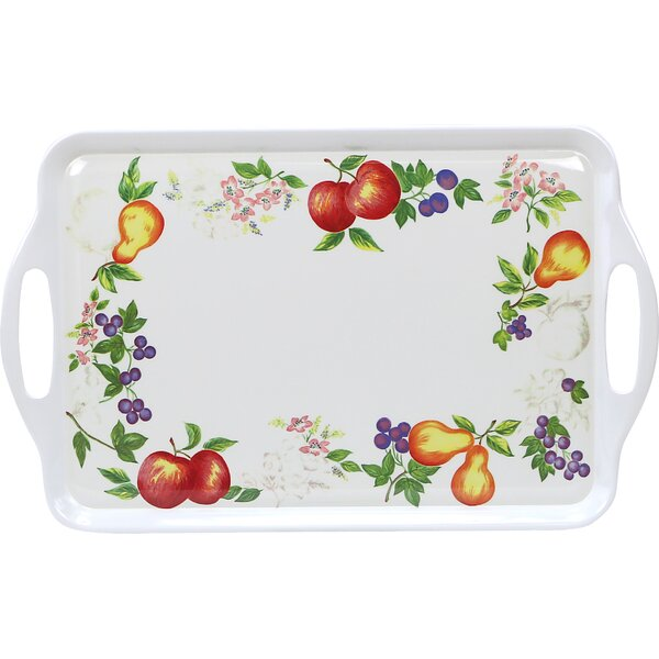 Impressions Chutney Melamine Rectangular Serving Platter by Corelle