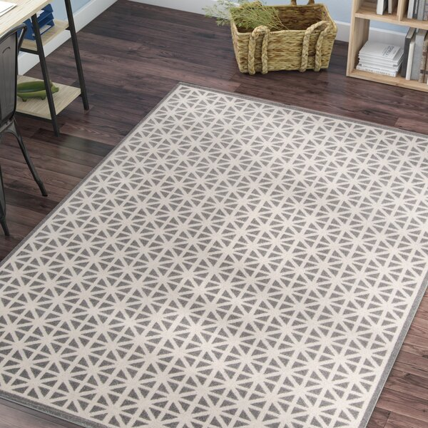 Sandoval Gray Indoor/Outdoor Area Rug by Laurel Foundry Modern Farmhouse