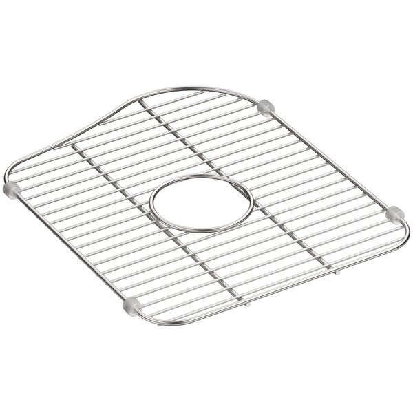 Staccato Stainless Steel Large Sink Rack for Right-Hand Bowl by Kohler