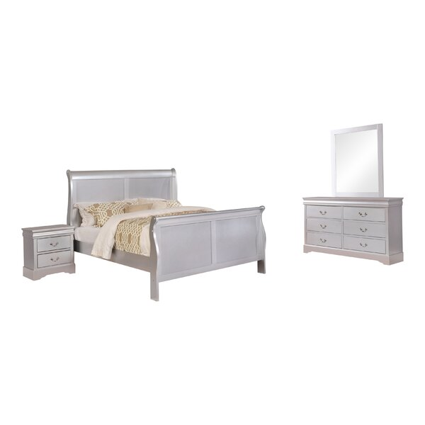 Fernwood Sleigh Configurable Bedroom Set by Charlton Home