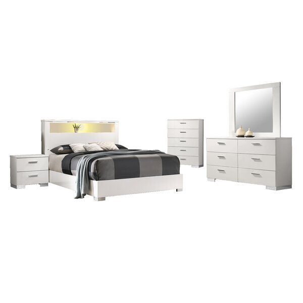 Cerqueira Platform 5 Piece Bedroom Set by Orren Ellis