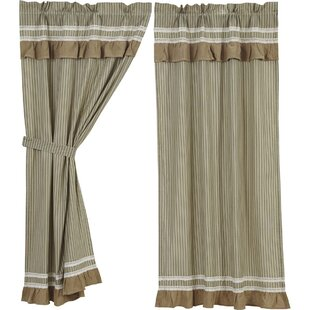 Bedroom Short Curtains | Wayfair