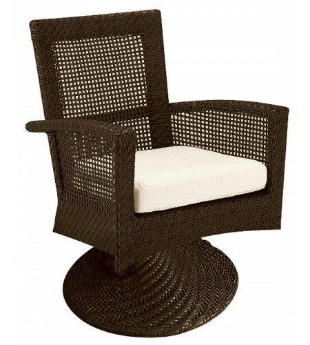 Trinidad Patio Chair with Cushion by Woodard