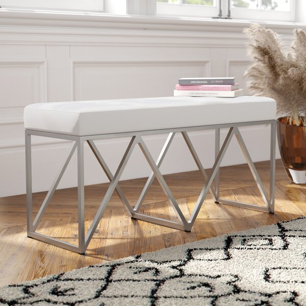 Finchley Upholstered Bench by Everly Quinn Everly Quinn