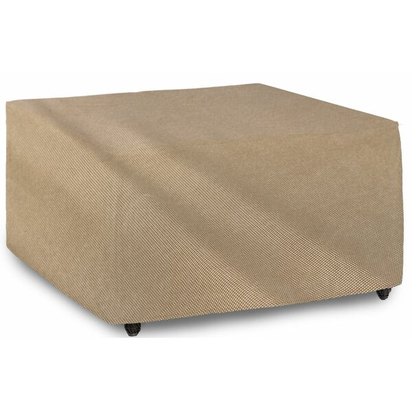 English Garden Square Patio Table Cover by Budge Industries