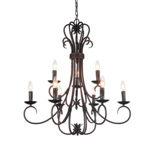Best Reviews Maddy 9-Light Chandelier By CWI Lighting