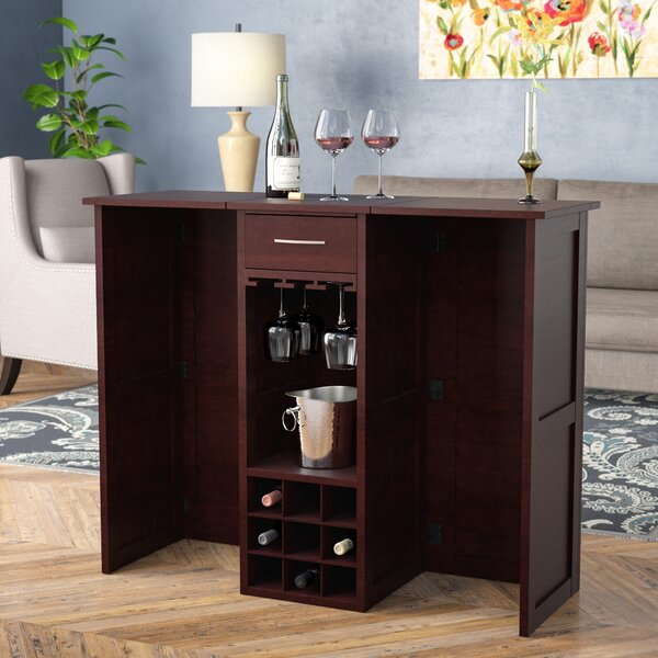 Narron Cabinet with Wine Storage by Andover Mills Andover Mills