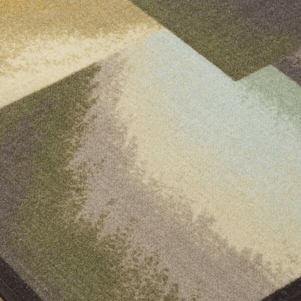 Grissett Brown/Blue/Green Area Rug by Wrought Studio