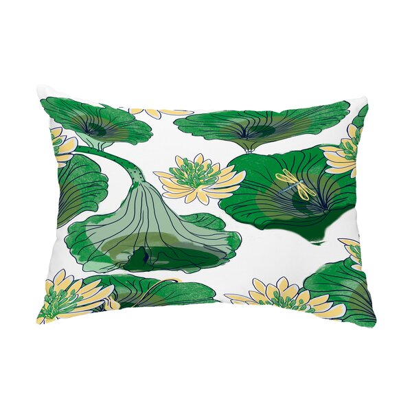 Providence Lotokoi Indoor/Outdoor Lumbar Pillow by World Menagerie