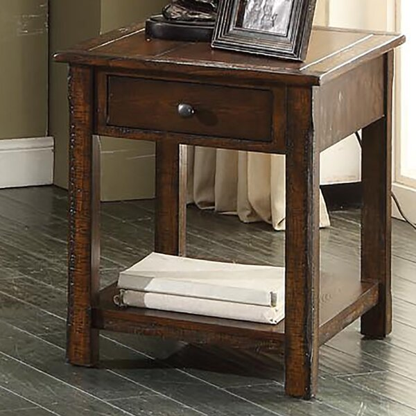 Tremper End Table by Millwood Pines