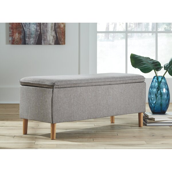 Hanish Upholstered Bench by Wrought Studio