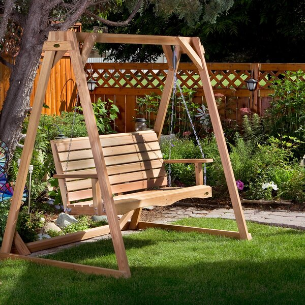 Ardoin Porch Swing by Union Rustic Union Rustic