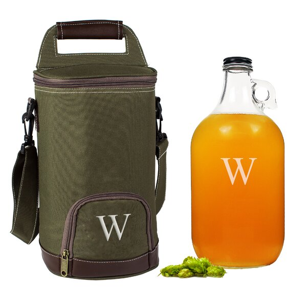 Personalized Insulated Growler Cooler with Growler by Cathys Concepts