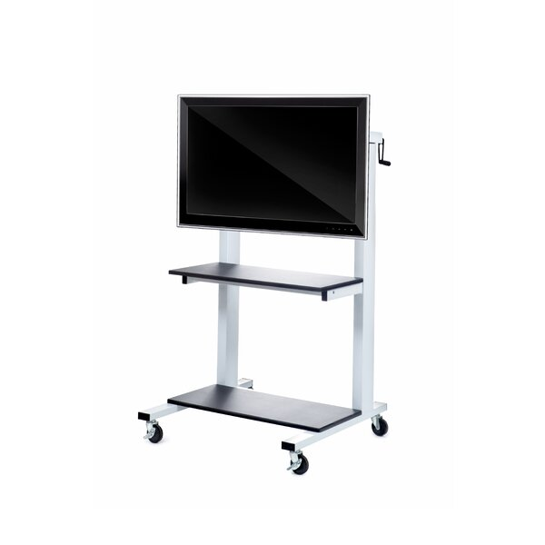 Wilson Crank Adjustable LCD AV Cart by Luxor