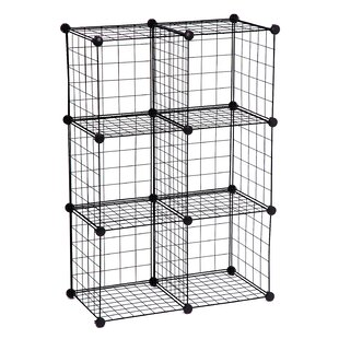 Modern & Contemporary Wire Cube Shelving Unit | AllModern