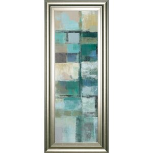 Island Hues Panel 1 by Silvia Vassileva Framed Painting Print by Classy Art Wholesalers