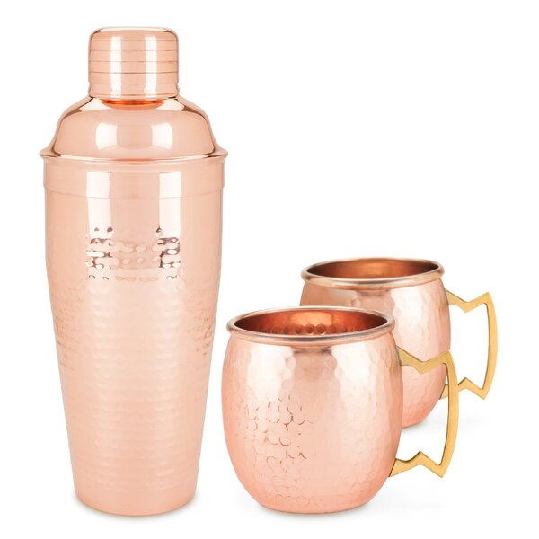 Old Kentucky Home™ 3 Piece Copper Mug Set by Twine